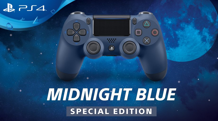 Contest: Win a Brand New Midnight Blue PS4 Controller!