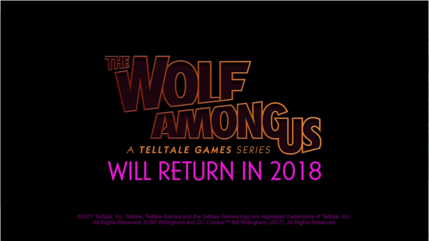 New Details On The Wolf Among Us 2 Show Sad State Before TelltaleClosure