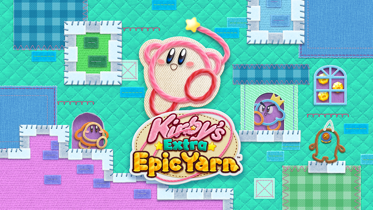 Kirby's Extra Epic Yarn Announce for Nintendo 3DS, March 8thRelease