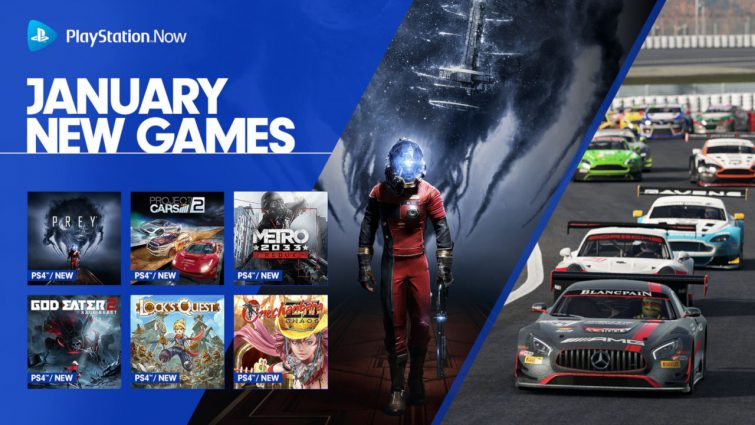 Prey, Project Cars, and Metro 2033 Redux Coming to PlayStation Now in January