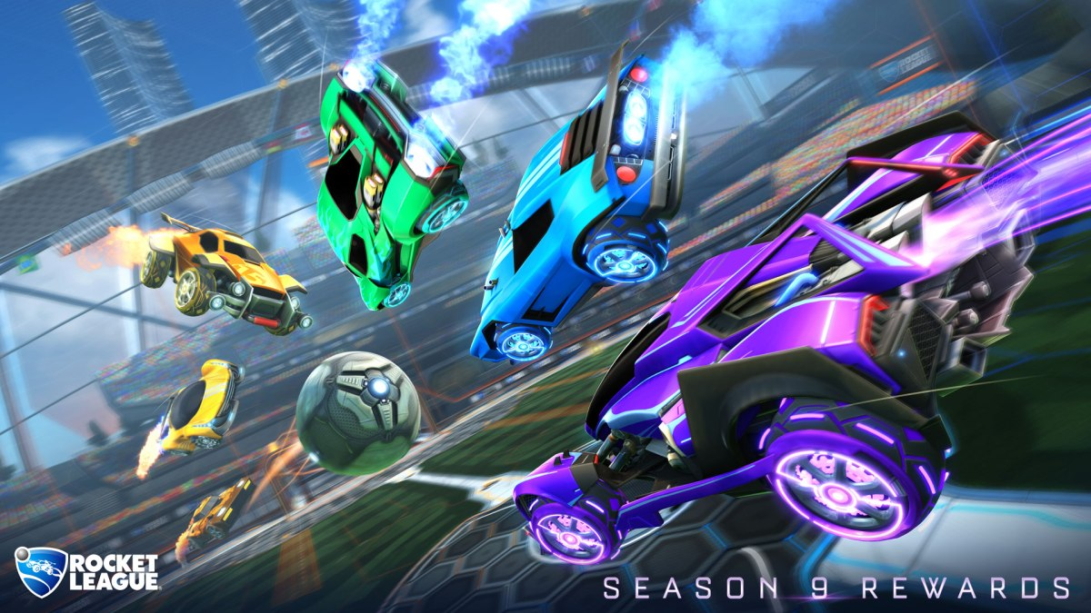 Psyonix Releases Rocket League Spring 2019 Road Map and Season 9 Rewards