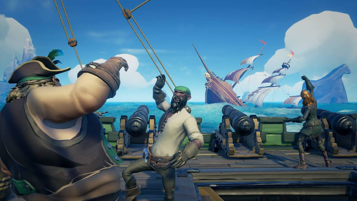Option To Turn off Xbox One/PC Cross Play Coming to Sea of Thieves