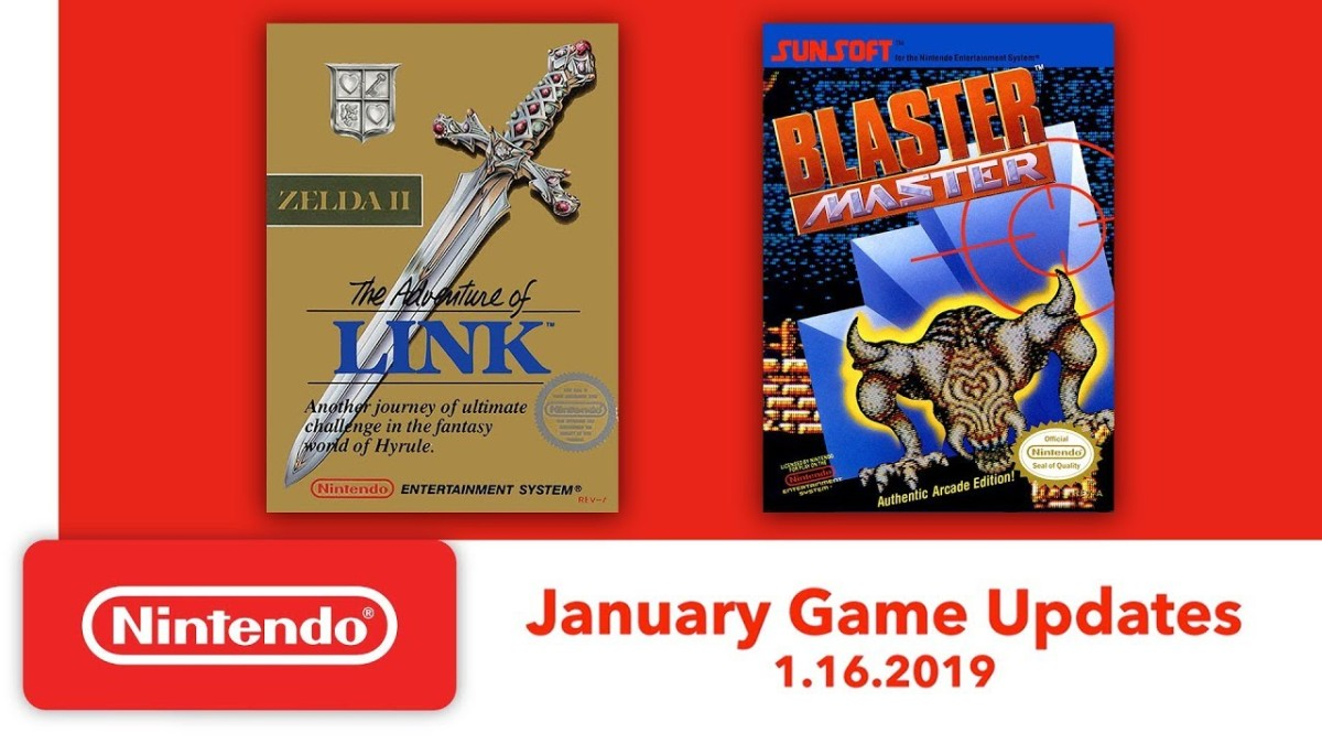 Zelda II and Blaster Master Headed to Nintendo Switch Online's NES App on January 16th